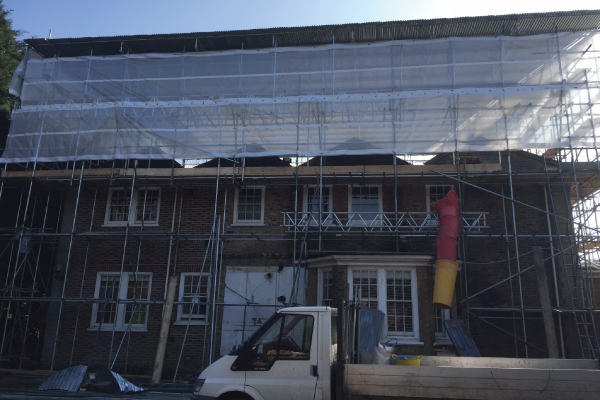Temporary Roof Scaffolding Hayes Hillingdon