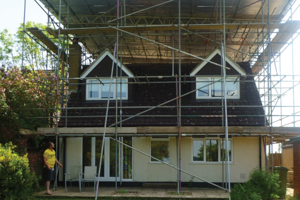 Temporary Roof Scaffolding Kings Langley Safe Access